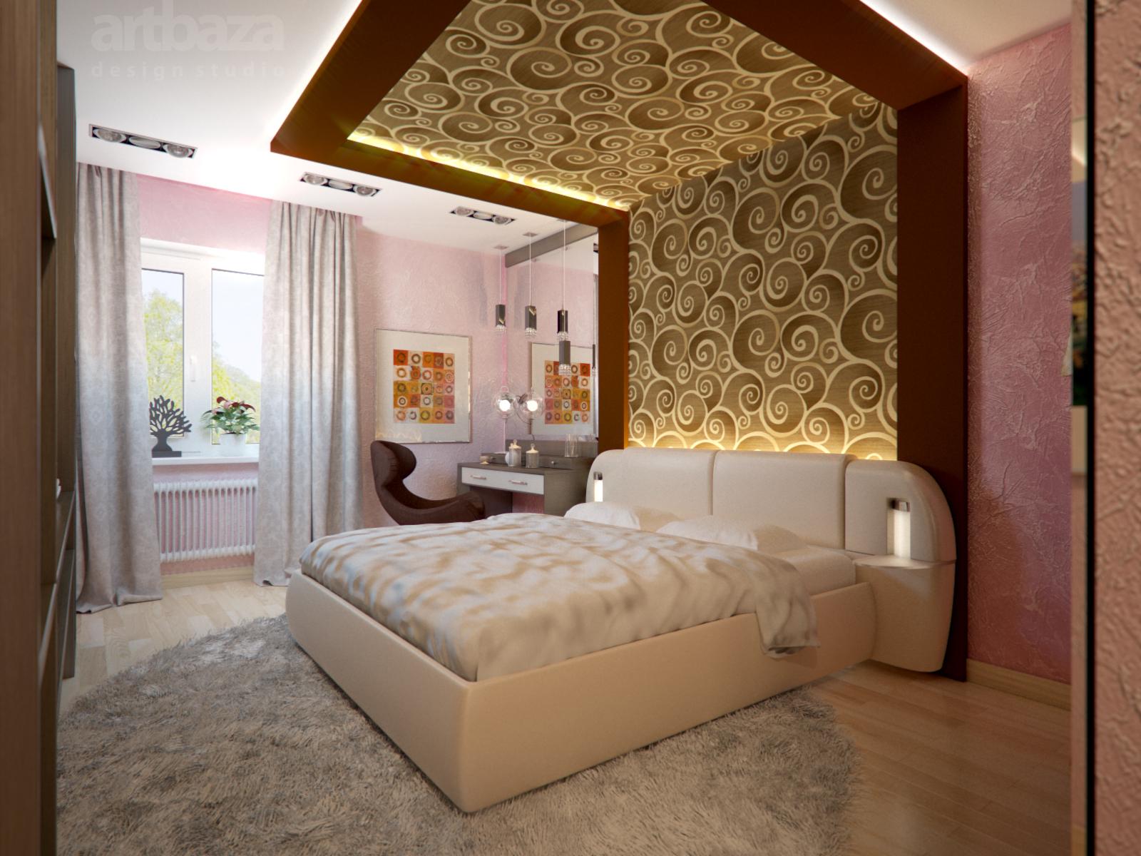 фото интерьера спальни дизайн